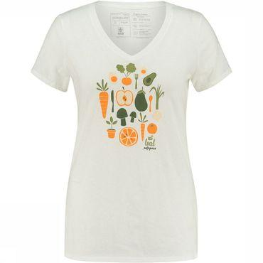 Harvest Haul Organic V-Neck T-Shirt Dames