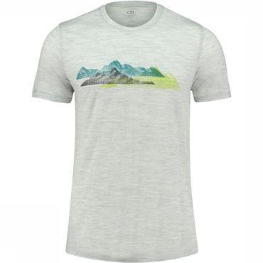 Tech Lite SS Crewe Misty Peaks T-shirt