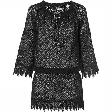 Lace Beach Cover Up Jurk