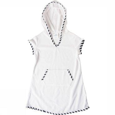 Sailor Stripe Hooded Dress Handdoek Junior