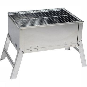 Compact Deluxe RVS Barbecue