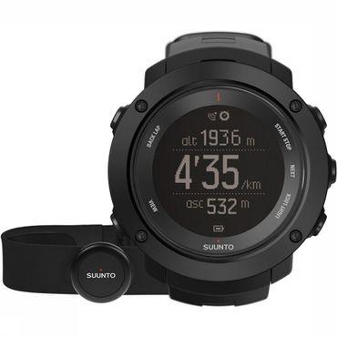 Ambit3 Vertical Black HR Horloge + Hartslagband