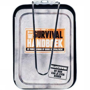 Het Survival Handboek + Mess Tin