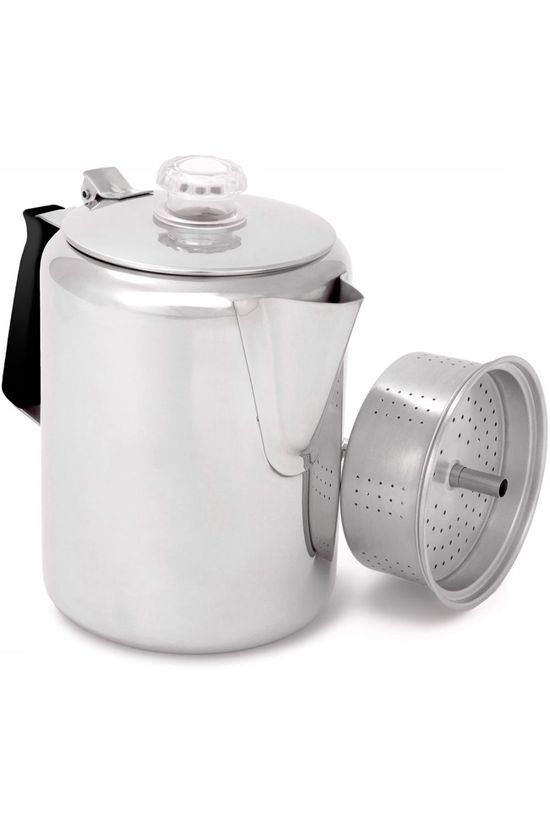 GSI Outdoors Glacier Stainless 9 Cup Perculator  Geen kleur