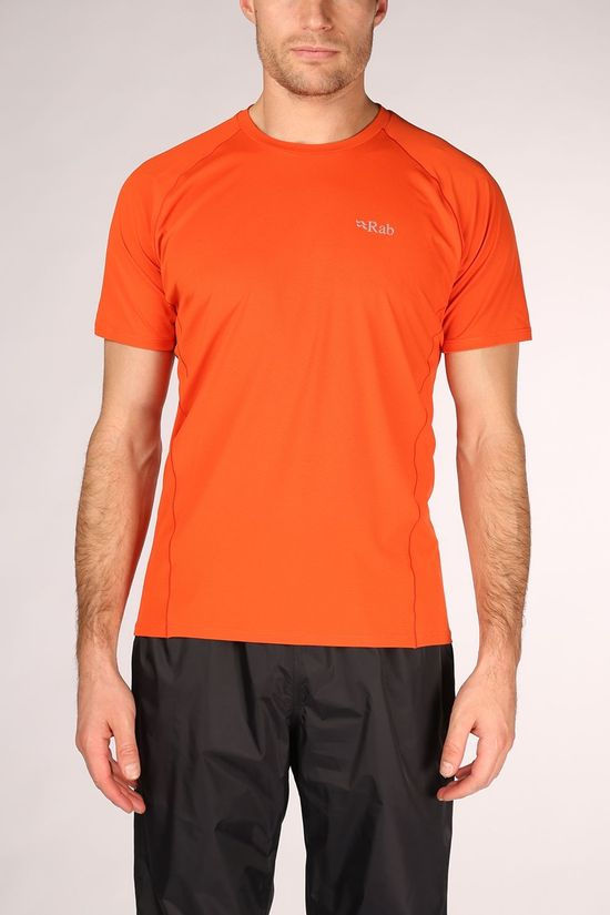 Rab Force T-shirt Oranje