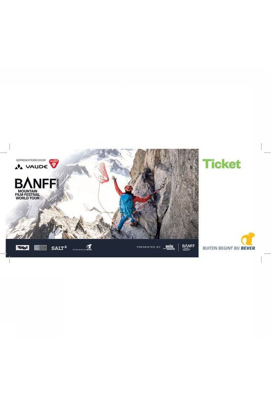 Banff Banff Ticket Amsterdam Meervaart Theater - 16 april 2019 Geen kleur