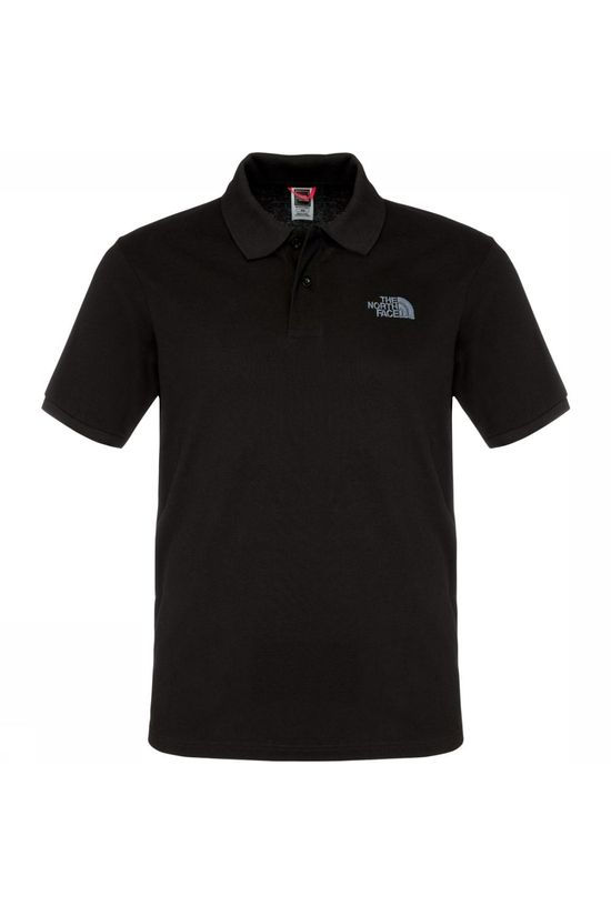 The North Face Polo Piquet Heren Zwart