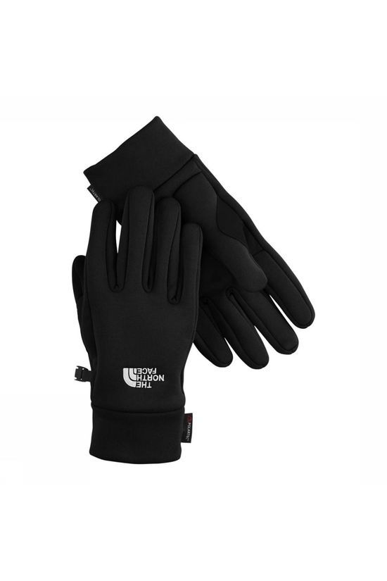 The North Face Power Stretch Handschoen Zwart