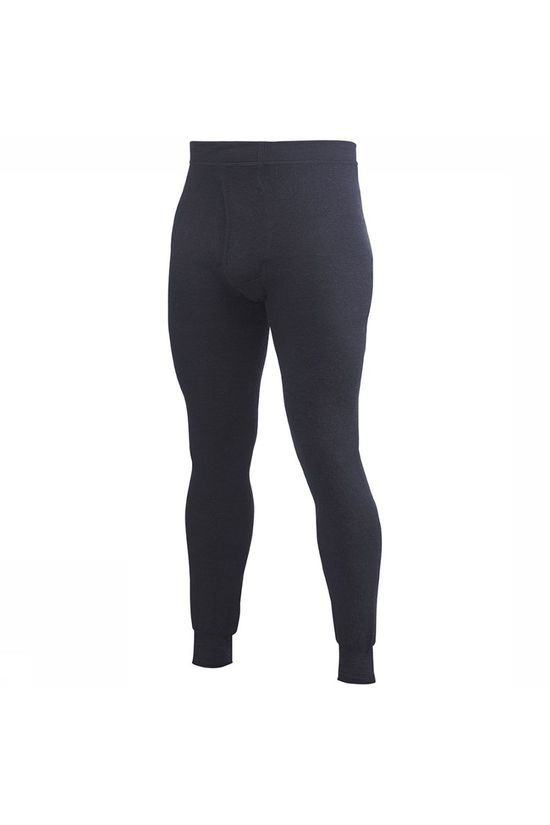 Woolpower Long Johns With Fly 400 Donkerblauw