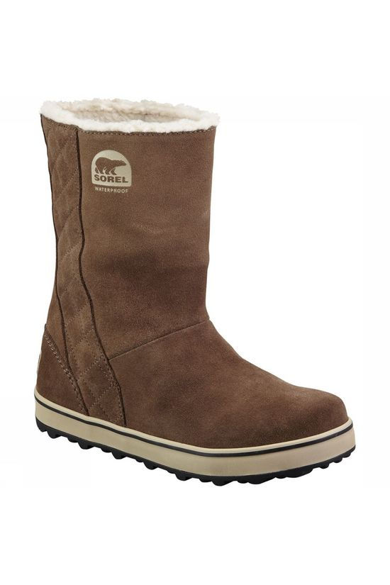 Sorel Glacy Winterlaars Dames Taupe