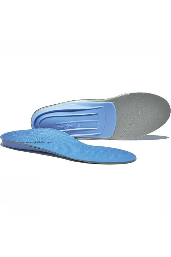 Superfeet Active Blue Inlegzool  Blauw