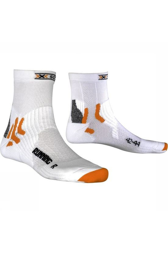 X-Socks Running Short Sok Wit