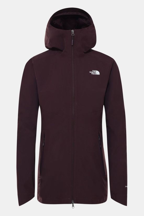 The North Face Hikesteller Parka Shell-Jas Dames Aubergine