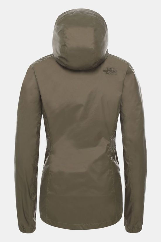 The North Face Resolve Parka II Dames Donkergroen