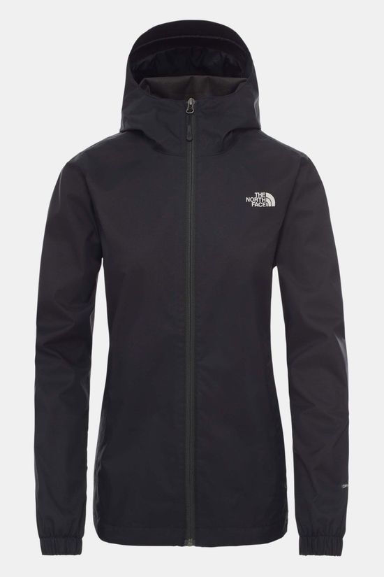 The North Face Quest Jas Dames Zwart/Donkergrijs