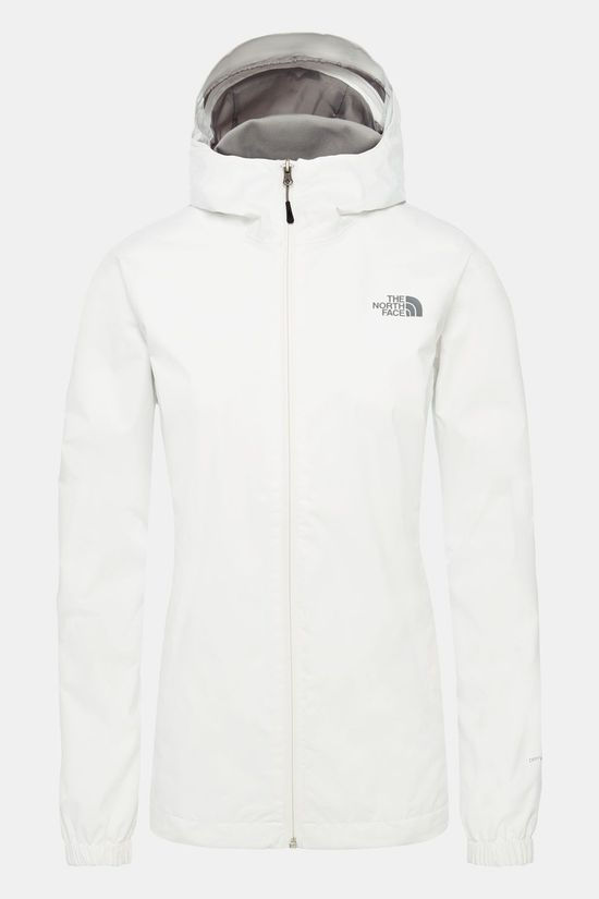 The North Face Quest Jas Dames Wit/Grijs