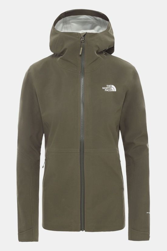 The North Face Apex Flex Dryvent Jas Dames Donkergroen
