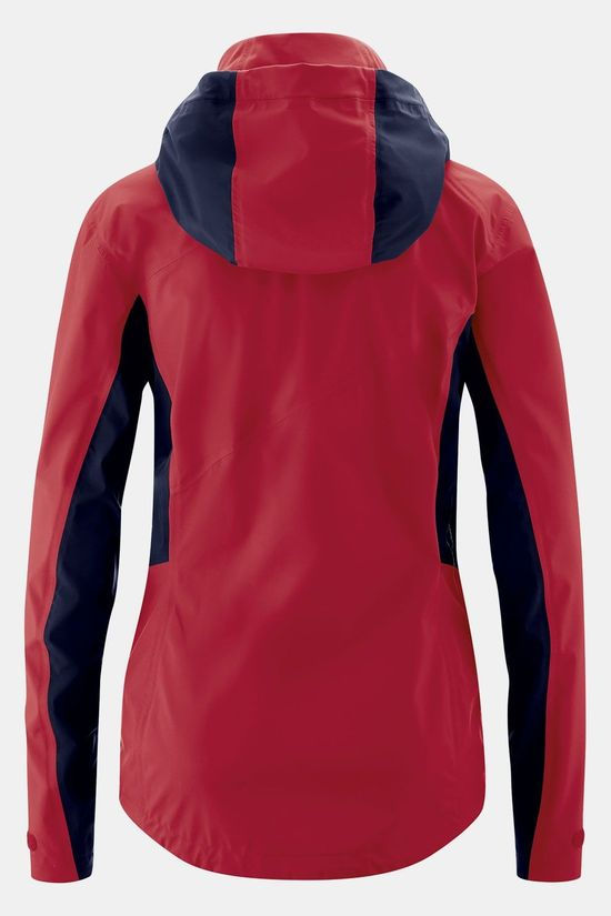 Maier Sports Tangstad Jas Dames Rood/Donkerrood