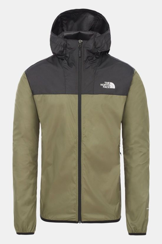 The North Face Cyclone 2 Jas Zwart/Donkergroen