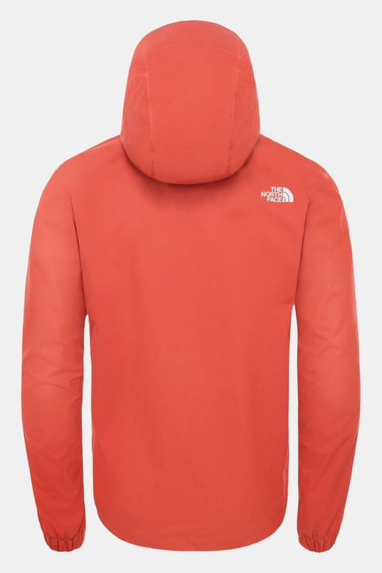 The North Face Quest Jas Rood/Donkerrood