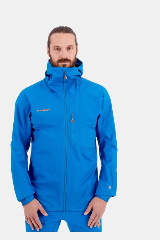 Mammut Nordwand Light Hs Hooded Jas Middenblauw
