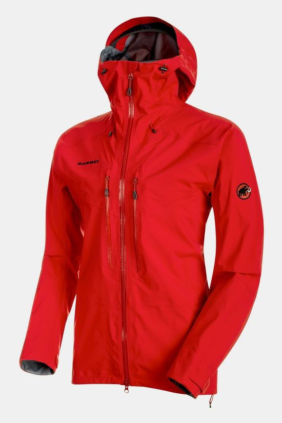 Mammut Meron HS Hooded Jas Lichtrood