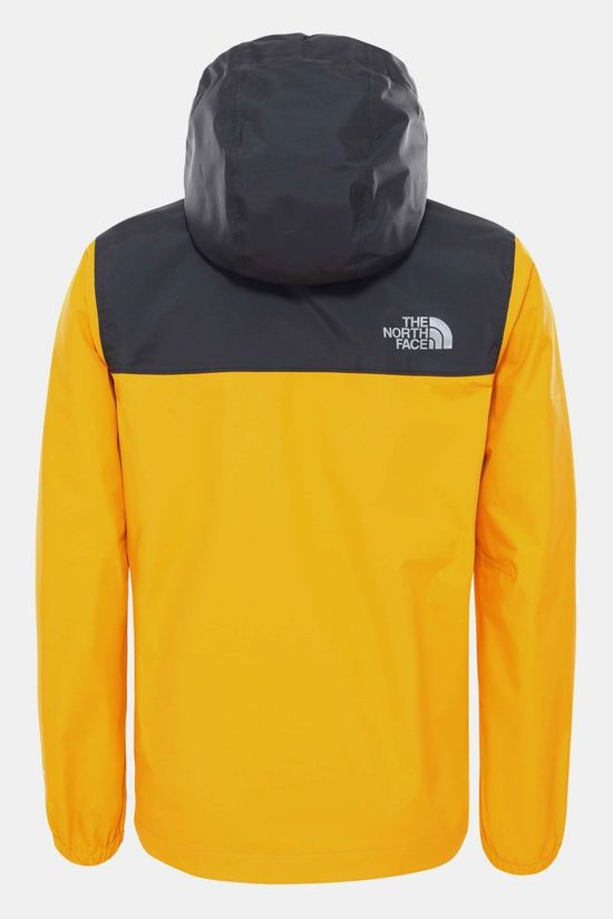 The North Face Resolve Regenjas Junior Goud/Zwart