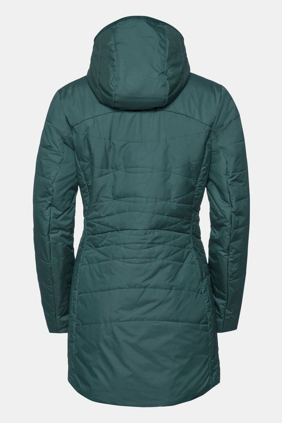Vaude Skomer Winter Coat Dames Middengroen
