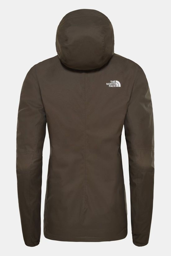 The North Face Geïsoleerde Quest Jas Dames Taupe