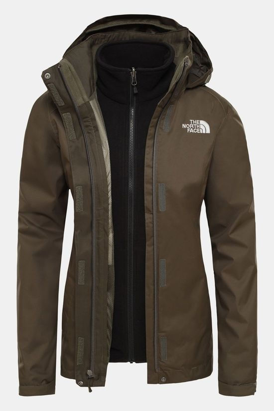 The North Face Evolve II Triclimate Jas Dames Taupe/Zwart