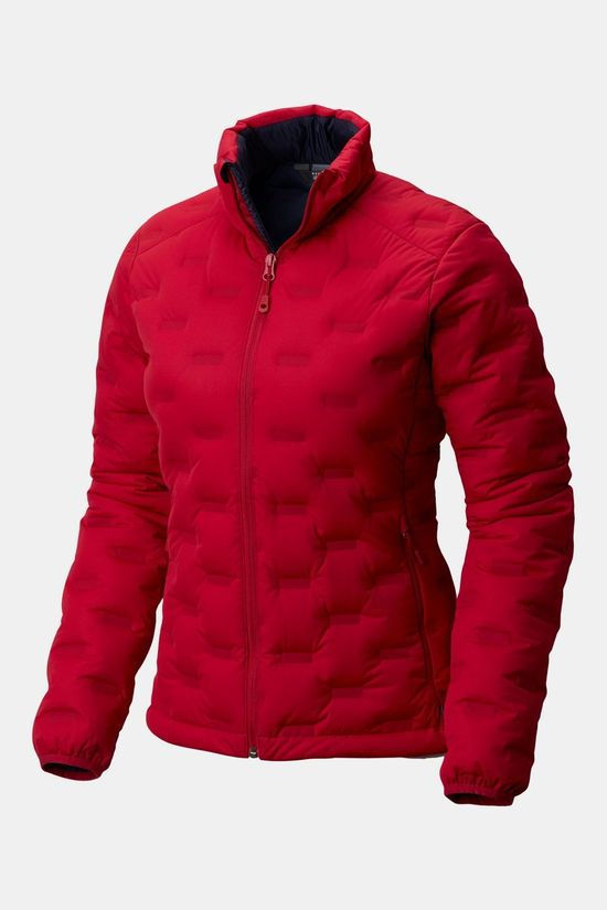 Mountain Hardwear Stretchdown DS Jas Dames Donkerrood