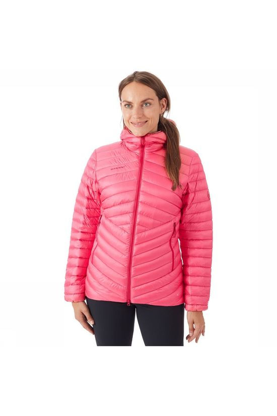 Mammut Broad Peak IN Hooded Jas Dames Middenroze