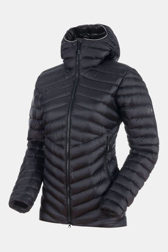 Mammut Broad Peak IN Hooded Jas Dames Zwart/Middengrijs