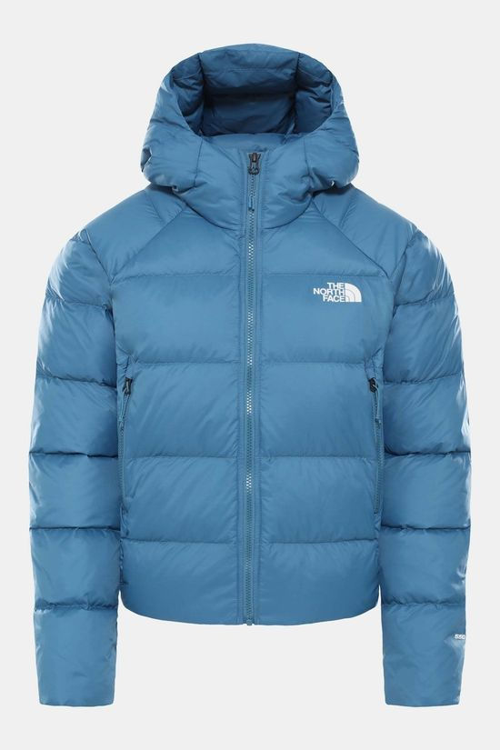 The North Face Korte 550 donsjas voor dames Blauw (Jeans)