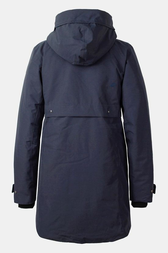 Didriksons Helle Parka Dames Donkerblauw
