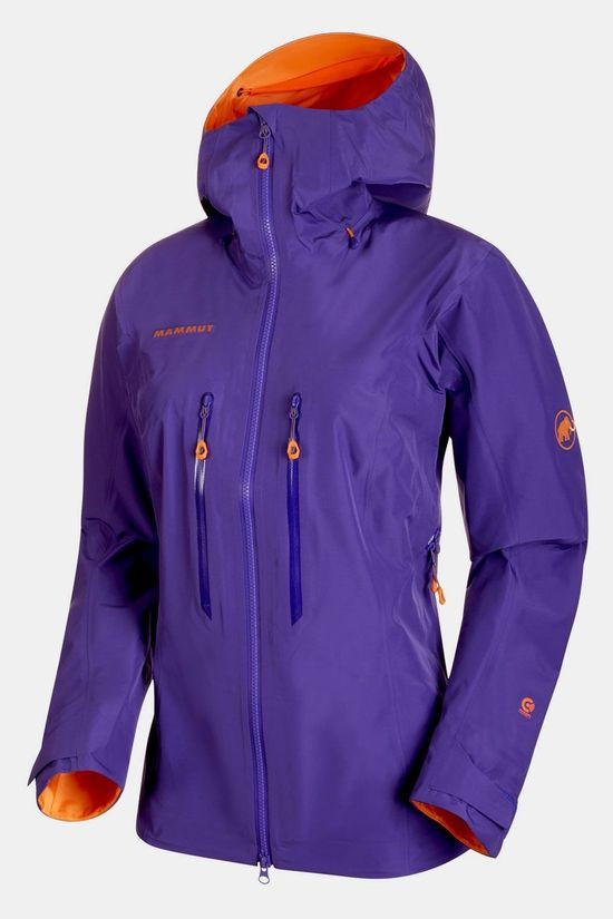Mammut Nordwand Advanced HS Hooded Jas Dames Middenpaars
