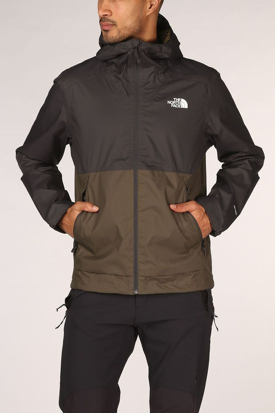 The North Face Millerton Jas Donkerkaki/Donkergrijs