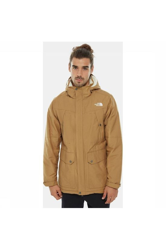 The North Face Katavi Trench Jas  Lichtbruin