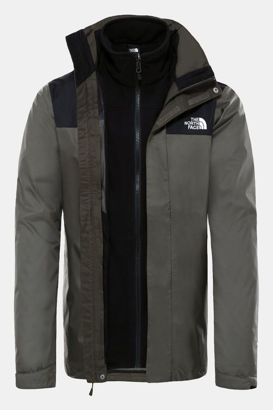 The North Face Evolve II Triclimate 3-in-1 Jas Donkergroen