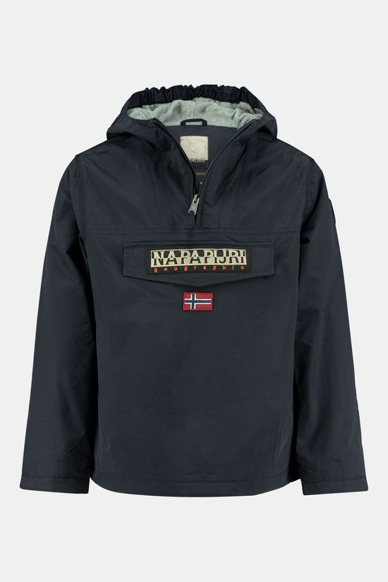 Napapijri Rainforest Anorak Junior Donkerblauw