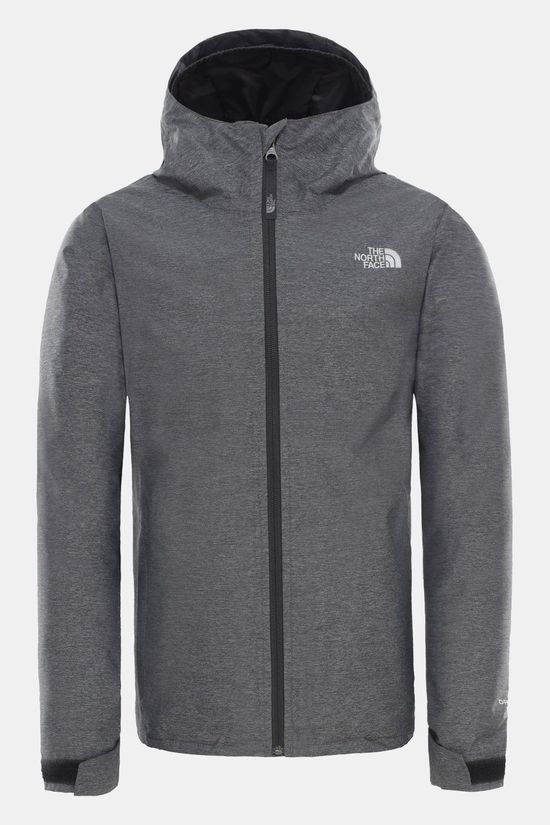 The North Face Thermoball Triclimate Jas voor jongens Lichtgrijs Mengeling/Donkergrijs Mengeling