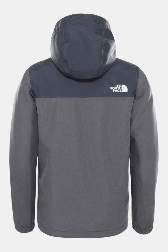 The North Face Warm Storm Waterdichte Jas Junior Donkergrijs Mengeling/Zwart