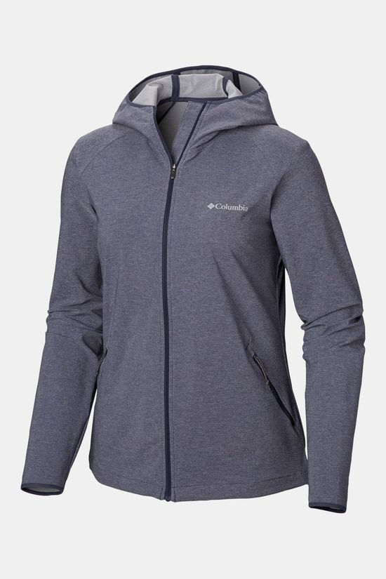 Columbia Heather Canyon Softshell Jas Donkerblauw