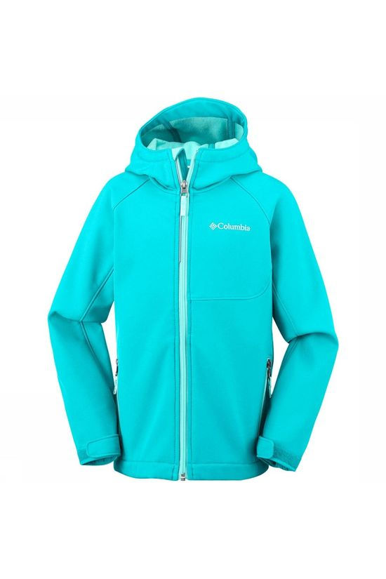 Columbia Cascade Ridge Softshell Jas Junior Turkoois