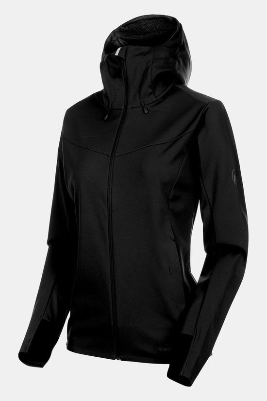 Mammut Ultimate V SO Hooded Jas Dames Zwart