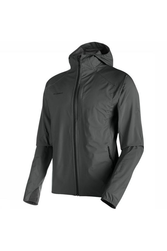 Mammut Ultimate Light SO Hooded Softshell Jas Donkergrijs