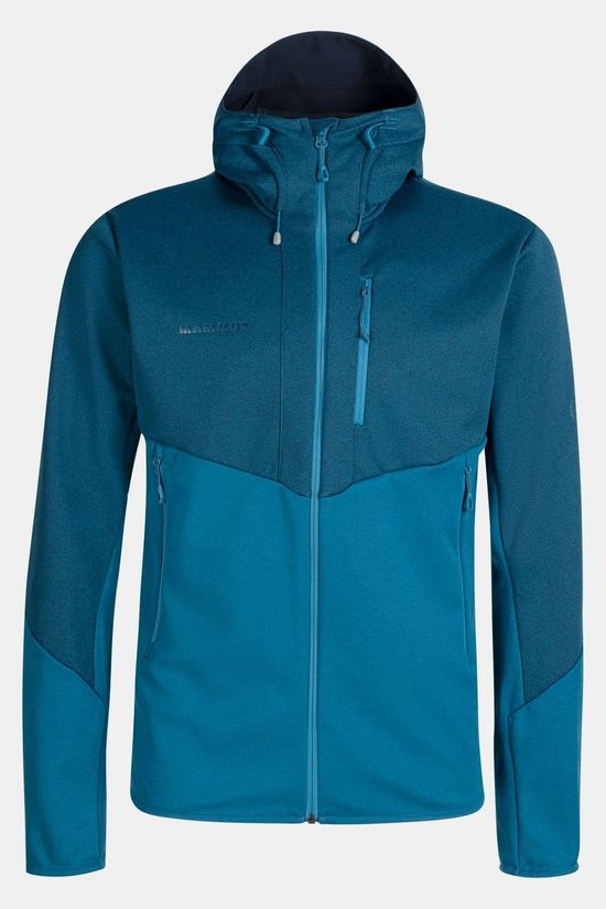 Mammut Ultimate VI So Hooded Winddichte Jas Blauw/Middenblauw