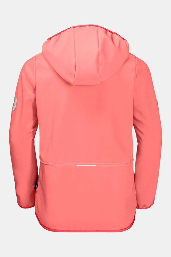 Jack Wolfskin Fourwinds Softshell Jas Junior Oranje