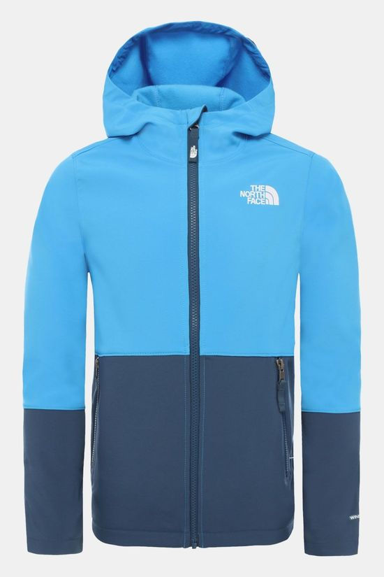 The North Face Softshell Jas Junior Middenblauw