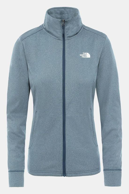 The North Face Quest Midlayer Jas Dames Indigo Blauw/Wit